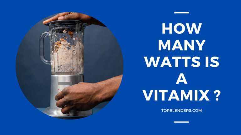 How many watts is a vitamix